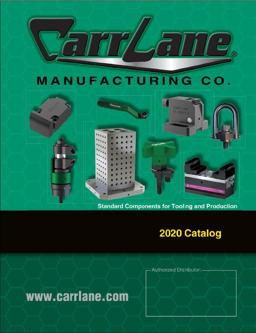 2020 Carr Lane Catalog